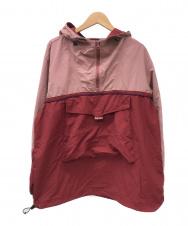 SUPREME (シュプリーム) スプリットアノラックジャケット レッド×ピンク サイズ:L 18SS・Split Anorak