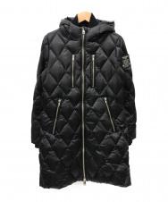 DIESEL (ディーゼル) キルティングダウンコート ブラック サイズ:XS