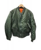 ()の古着「[古着]MA-1フライトジャケット」|カーキ