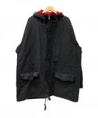 POLO SPORT(ポロスポーツ)の古着「[古着]90'sフーデッドコート」 ネイビー