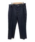 ()の古着「[古着]70'sブーツカットライトオンスデニムパンツ」 インディゴ