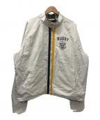 Rugby Ralph Lauren()の古着「リバーシブルスイングトップジャケット」 ホワイト