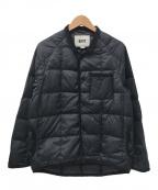 KATO(カトー)の古着「キルティングダウンジャケット」|ブラック