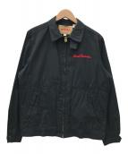 ()の古着「ロードランナーコットンスポーツジャケット」 ブラック