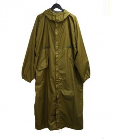 N.HOOLYWOOD(エヌハリウッド)の古着「ミリタリーロングコート」|オリーブ