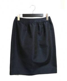Rene(ルネ)の古着「スカート」|ネイビー