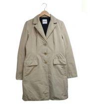 ASPESI(アスペジ)の古着「中綿チェスターコート」|ベージュ