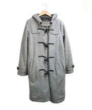 LOSICARIE(ロシカリエ)の古着「裏ボアダッフルコート」 グレー