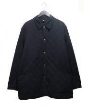 BURBERRY LONDON(バーバリーロンドン)の古着「キルティングコート」 ネイビー