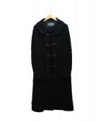 FRANCO FERRARO(フランコフェラーロ)の古着「コート」 ブラック
