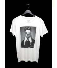 HYPE MEANS NOTHING(ハイプミーンズナッシング)の古着「JUSTIN BIEBER T-Shirts」|ホワイト
