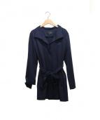 22 OCTOBRE(22オクトーブル)の古着「スタンドジャージーコート」|ネイビー
