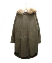 22 OCTOBRE(ヴァンドゥーオクトーブル)の古着「ライナー付モッズコート」|カーキ