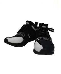 PUMA(プーマ)の古着「スニーカー」|ブラック×ホワイト