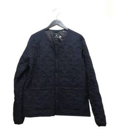 SNOWPEAK(スノーピーク)の古着「ファイヤーキルティングパフジャケット」|ネイビー