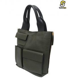MARNI(マルニ)の古着「マルチポケットバッグ」|オリーブ