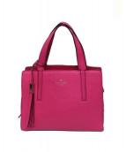 Kate Spade(ケイトスペード)の古着「2WAYバッグ」|ピンク