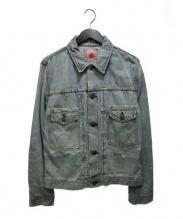 EDWIN(エドウィン)の古着「デニムジャケット」|スカイブルー