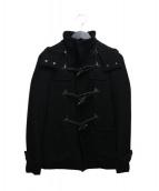 AKM(エーケーエム)の古着「ダッフルコート」|ブラック