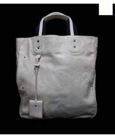 BALLY(バリー)の古着「レザートートバッグ」|ホワイト
