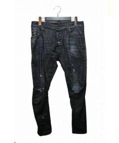 DSQUARED2(ディースクエアード)の古着「ダメージデニムパンツ」|インディゴ