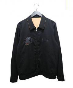 John UNDERCOVER(ジョンアンダーカバー)の古着「刺繍ブルゾン」|ブラック