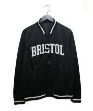 FCRB(エフシーレアルブリストル)の古着「メッシュスタジアムブルゾン」|ブラック