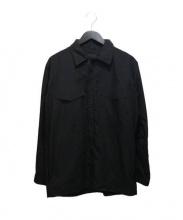DESCENTE(デサント)の古着「WポケットZIPジャケット」|ブラック