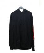 RIPNDIP(リップンディップ)の古着「DEAD ROSE HOODIE」|ブラック