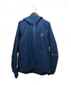 HAGLOFS(ホグロフス)の古着「シェルジャケット」|ブルー