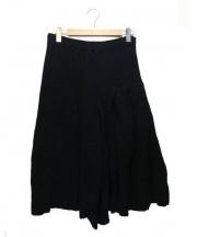 COMME des GARCONS(コムデギャルソン)の古着「デザインニットスカート」|ブラック