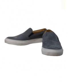 Pantofola dOro(パントフォラ ドーロ)の古着「ディアスキンレザースリッポン」|グレー