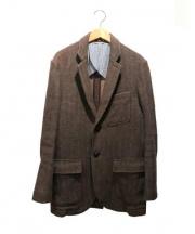 Brooks Brothers(ブルックスブラザーズ)の古着「ヘリンボーンツイードジャケット」|ブラウン