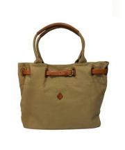 CLEDRAN(クレドラン)の古着「キャンバストートバッグ」|ベージュ