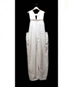 UNUSED(アンユーズド)の古着「オーバーオール」 ホワイト