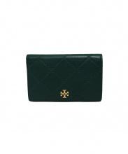 TORY BURCH(トリーバーチ)の古着「2つ折り財布」|グリーン