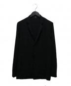 SHELLAC(シェラック)の古着「ソリビアツイルスタンドカラーシャツジャケット」 ブラック