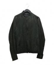 JULIUS(ユリウス)の古着「レザージャケット」|ブラック