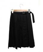 noir kei ninomiya(ノワール ケイ ニノミヤ)の古着「ラップスカート」|ブラック