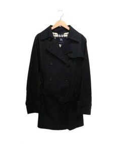 BURBERRY LONDON(バーバリーロンドン)の古着「ショートトレンチコート」|ブラック