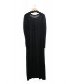 robe de chambre COMME des GARCONS(ローブドシャンブル コムデギャルソン)の古着「レースワンピース」|ブラック