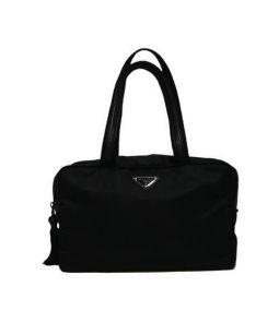 PRADA(プラダ)の古着「ミニボストンバッグ」|ブラック