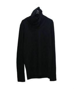 MA JULIUS(エムエイ ユリウス)の古着「デザインネックカットソー」 ブラック