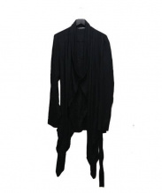 JULIUS(ユリウス)の古着「デザインカーディガン」|ブラック