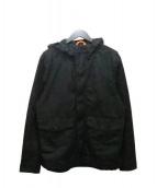 JACK SPADE(ジャックスペード)の古着「オイルドフーデッドジャケット」|ブラック