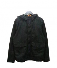 JACK SPADE(ジャックスペード)の古着「オイルドフーデッドジャケット」 ブラック