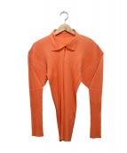 PLEATS PLEASE(プリーツ プリーズ)の古着「プリーツシャツ」
