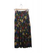 KENZO(ケンゾー)の古着「総柄スカート」