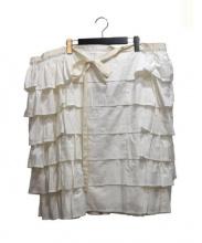 tricot COMME des GARCONS(トリココムデギャルソン)の古着「デザインスカート」|ホワイト