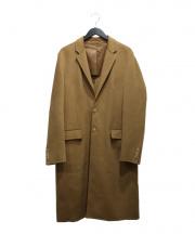 JOSEPH(ジョゼフ)の古着「ウールカシミヤチェスターコート」|ブラウン
